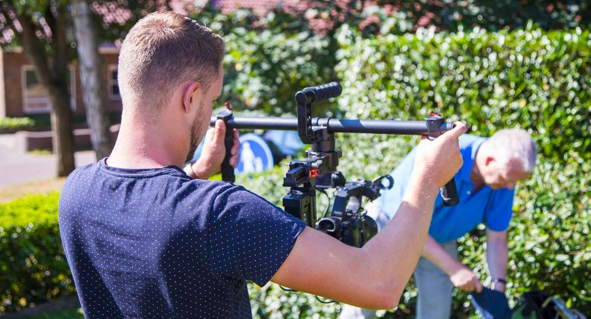 Bedrijfsreportage door cameraman