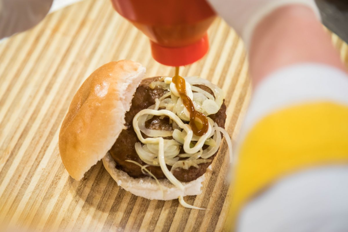 Broodje hamburger speciaal van Jumbo Grou