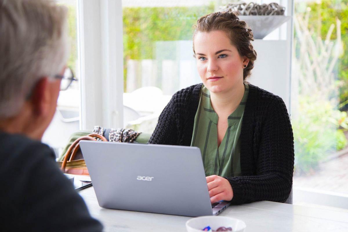 Interview door tekstschrijver Nathalie bij een klant in Friesland voor nieuwe websiteteksten