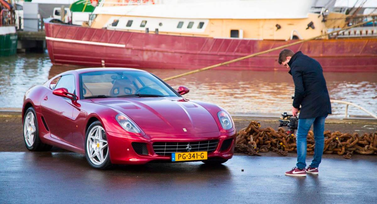 Bedrijfsfilm laten maken in de haven van Harlingen (Friesland)