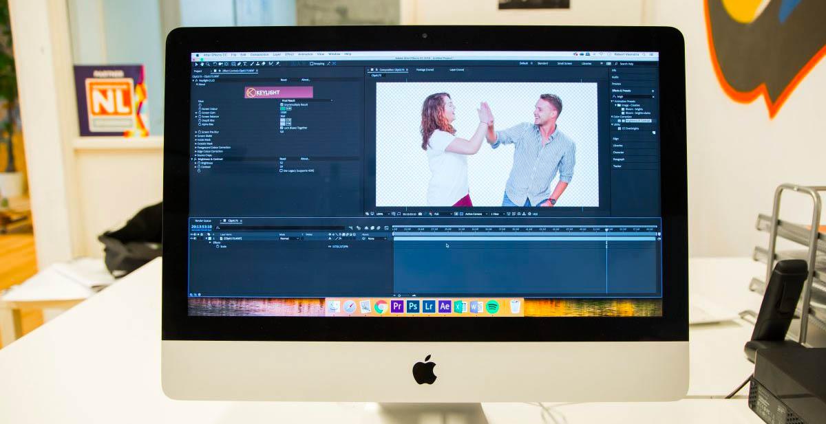 Het nabewerken van GIF-je met Adobe after effects