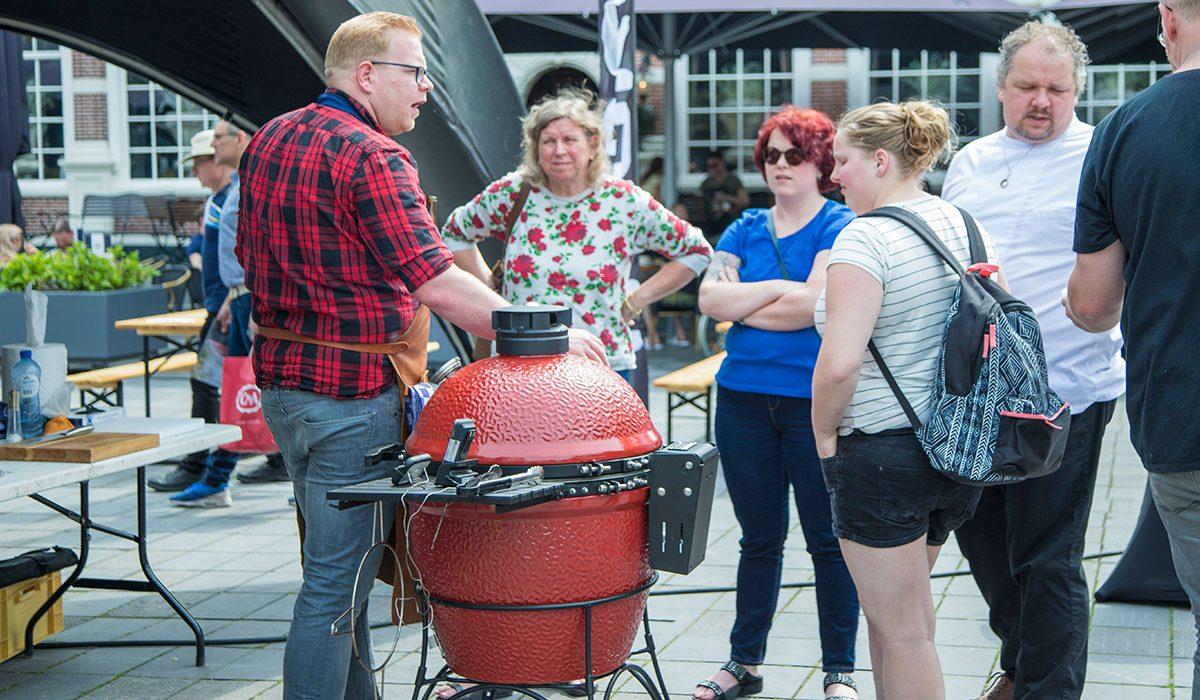 De winnaar van de Fryske Grillmaster 2018