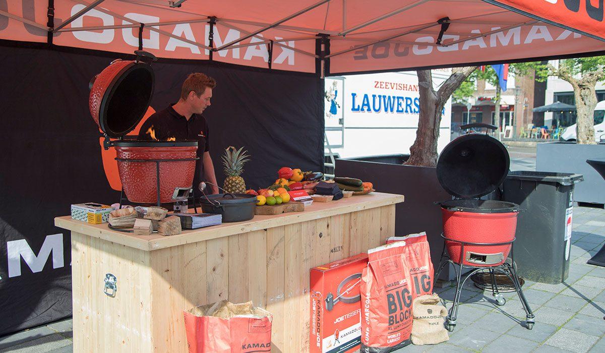 Kamado Joe presentaties tijdens de Fryske Grillmaster
