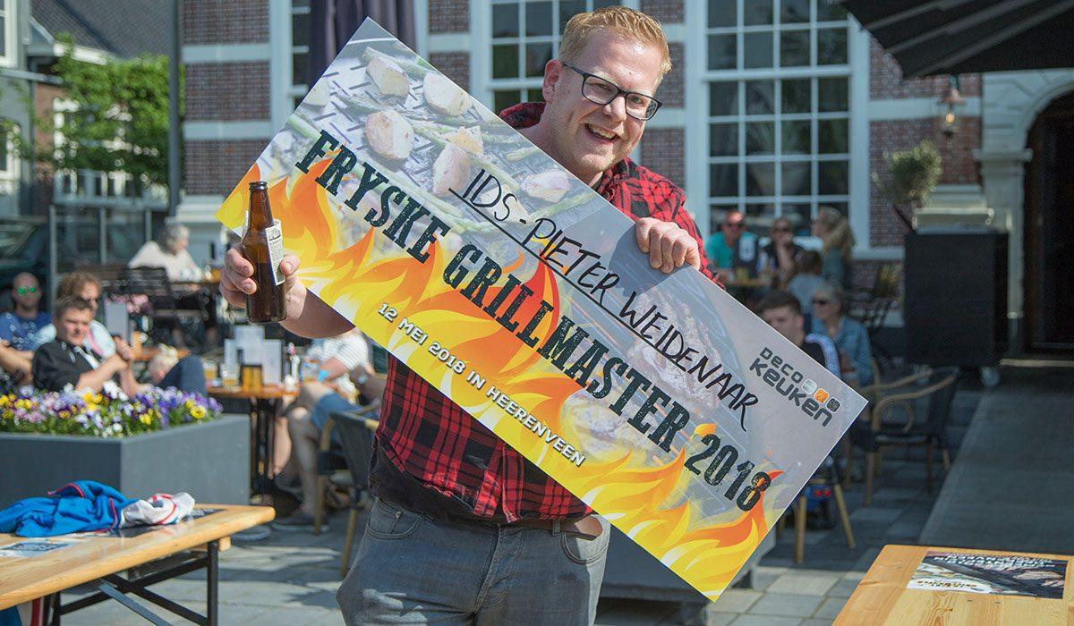 Ids Weidenaar winnaar Fryske Grillmaster