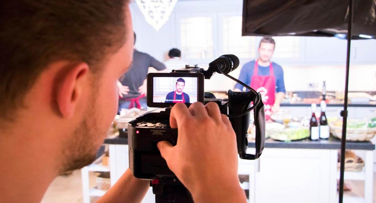 Videopitch voor een kok