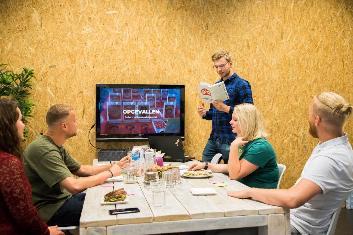 Werken met Archetypes tijdens positioneringsessie bij communicatiebureau Opgevallen
