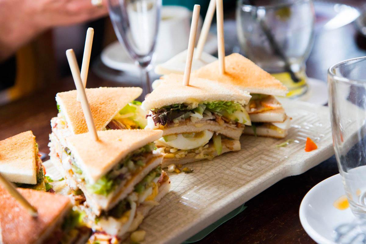 Sandwich bedrijfsfotografie