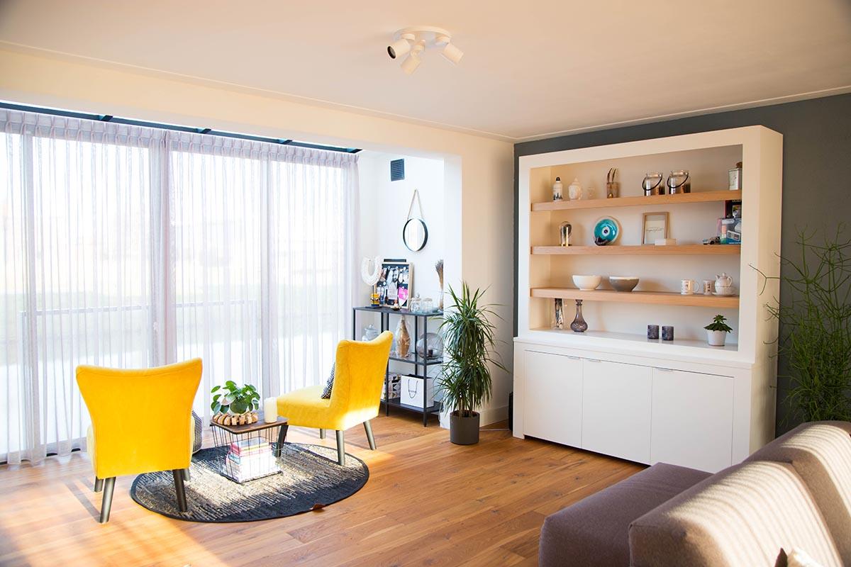 Interieur voor meubelmakerij