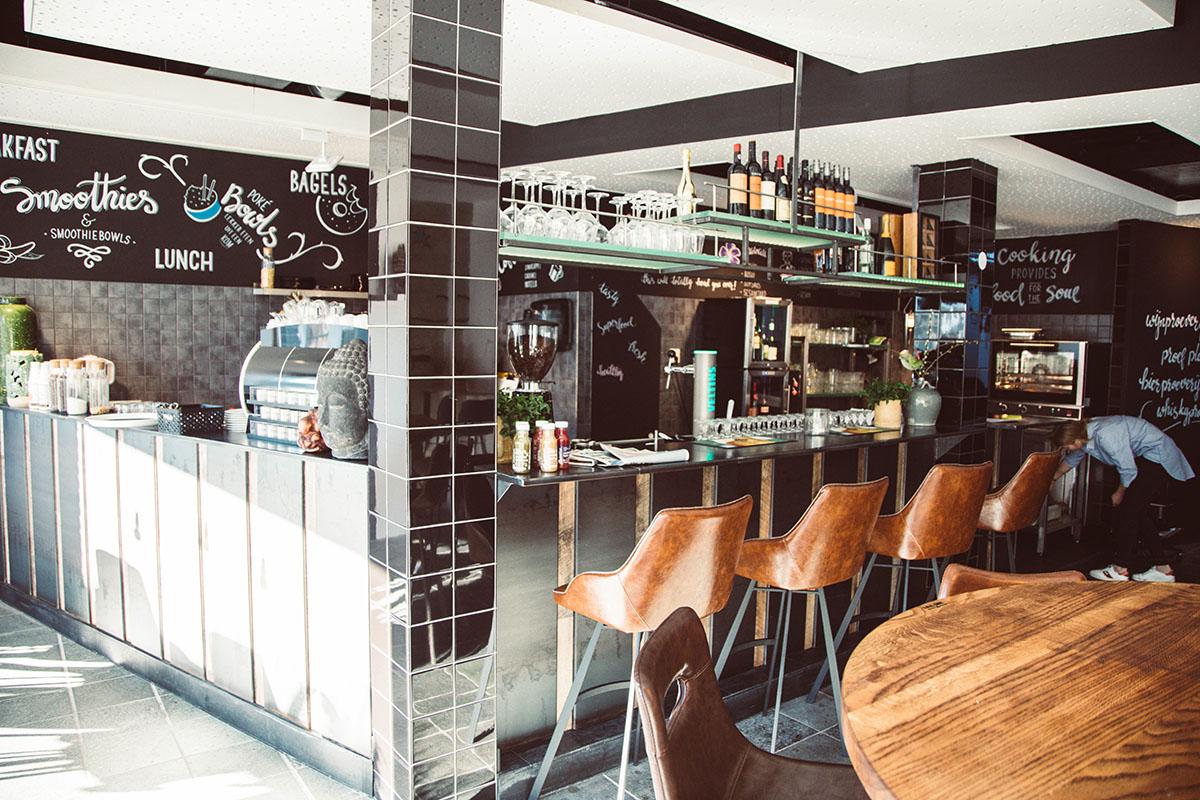 Interieur van restaurant cafe Proef Drachten
