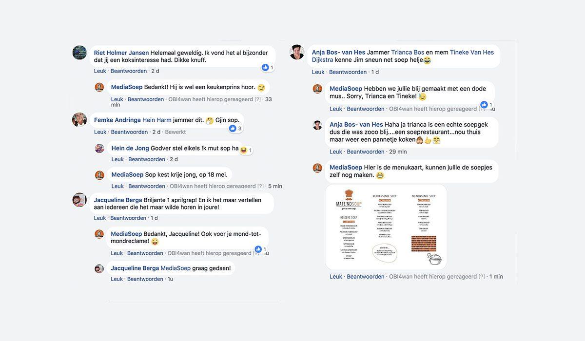Webcare Mate'ndsoup 1 april grap MediaSoep